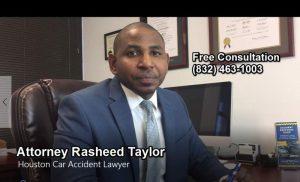 Houston Car Accident Lawyer Rasheed Taylor