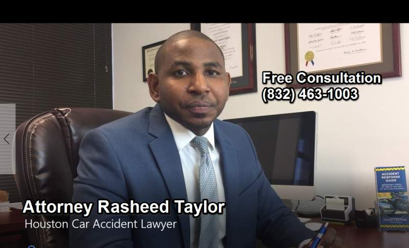 Houston Car Accident Lawyer Rasheed Taylor